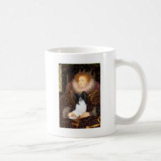 Queen Elizabeth I  - Papillon 1 Basic White Mug