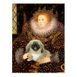 Queen Elizabeth I - Pekingese Post Cards
