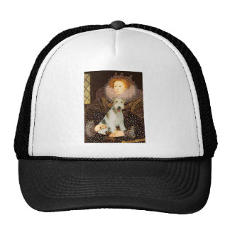Queen Elizabeth I - Wire Fox Terrier #1 Cap