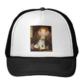 Queen Elizabeth I - Wire Fox Terrier #1 Cap