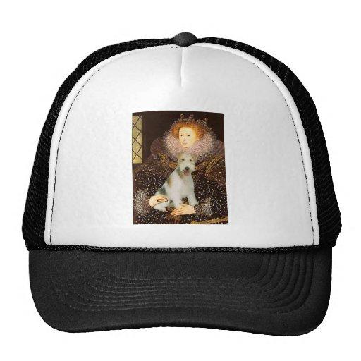 Queen Elizabeth I - Wire Fox Terrier #1 Hat
