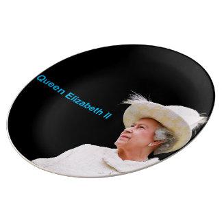 Queen Elizabeth II Decorative-Porcelain-Plate Plate