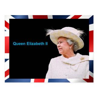 Queen Elizabeth II image for postcard