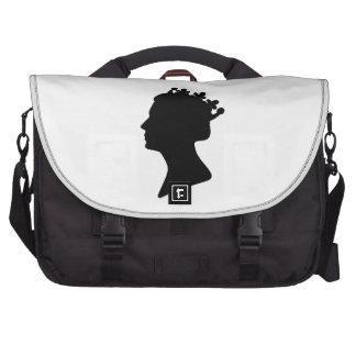 Queen Elizabeth II Laptop Shoulder Bag