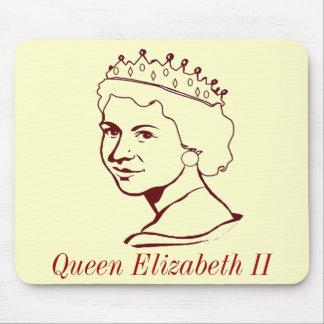 Queen Elizabeth II Mouse Mat