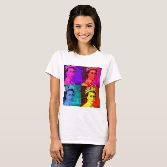 Queen Elizabeth II Pop Art T-Shirt