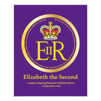 Queen Elizabeth II Reign Photo Art