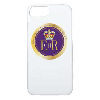 Queen Elizabeth Longest Reign Medal iPhone 7 Case