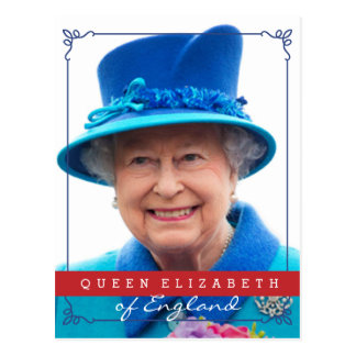 Queen Elizabeth of England Postcard