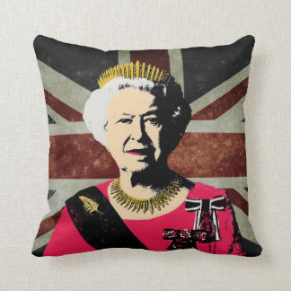 Queen Elizabeth pillow