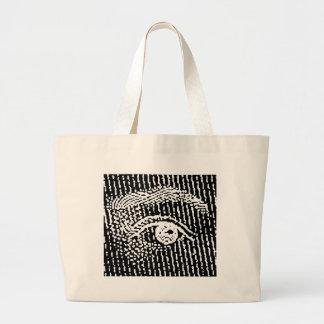 Queen Elizabeth s Eyes Canvas Bags