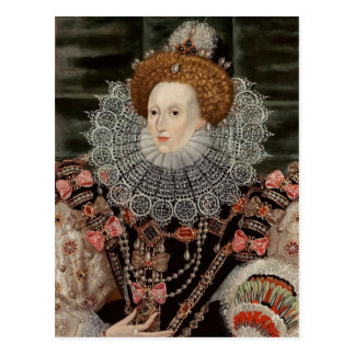 Queen Elizabeth the 1st POSTCARD