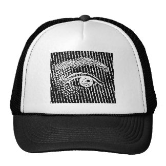 Queen Elizabeth's Eyes Trucker Hats