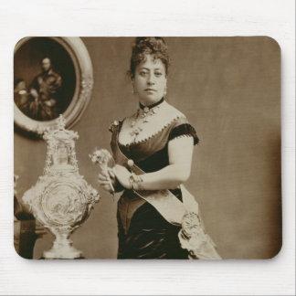 Queen Emma (1836-85) (sepia photograph) Mouse Pad