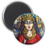Queen Esther 6 Cm Round Magnet