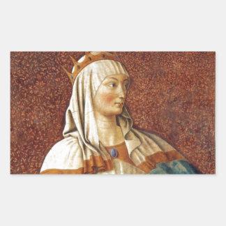 Queen Esther Rectangular Stickers