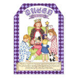 Queen for the Day Card and Gift Tag 13 Cm X 18 Cm Invitation Card