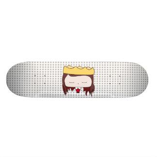 queen girl custom skateboard