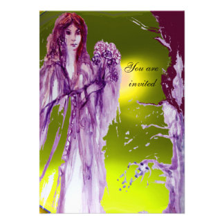 QUEEN GUINEVERE PERSONALIZED ANNOUNCEMENT
