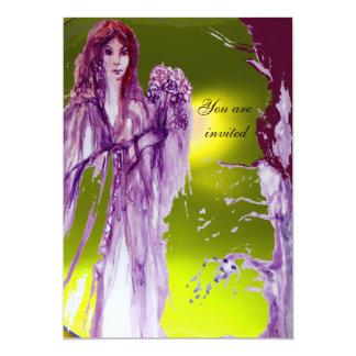 """QUEEN GUINEVERE 5"""" X 7"""" INVITATION CARD"""
