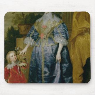 Queen Henrietta Maria and her dwarf Mouse Mat