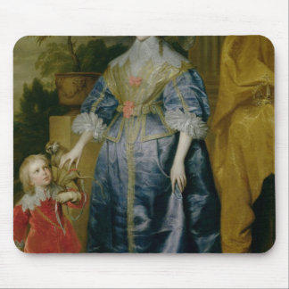 Queen Henrietta Maria and her dwarf Mouse Pad