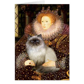 Queen- Himalayan cat 7 Card