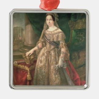 Queen Isabella II  1843 Christmas Ornament