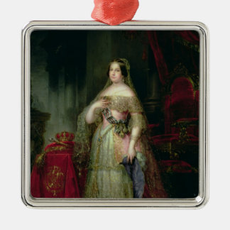 Queen Isabella II  of Spain Christmas Ornament
