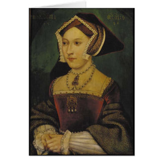Queen Jane Seymour Greeting Card