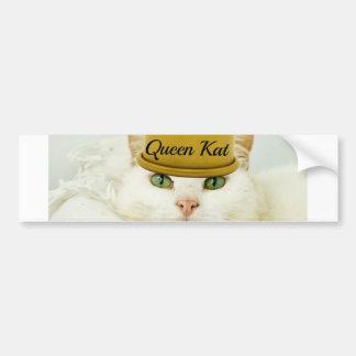 Queen Kat Bumper Sticker