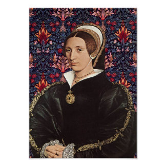 Queen Katherine Howard of  England Portrait Poster