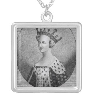 Queen Katherine  pub. in 1792 Silver Plated Necklace