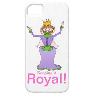 Queen, Keeping it Royal iPhone 5 Cases