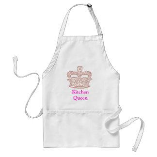 queen, Kitchen Queen Adult Apron