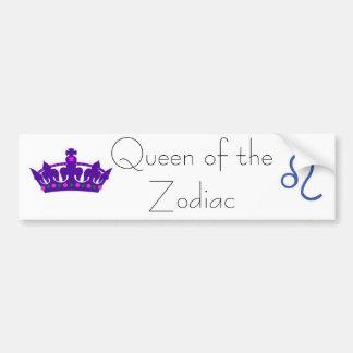 queen leo bumper sticker