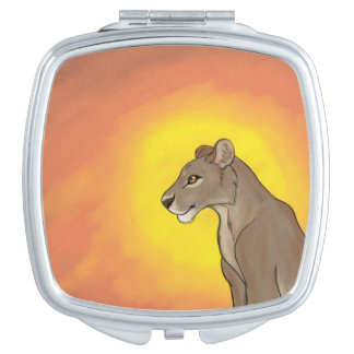 Queen Lioness Mirror For Makeup
