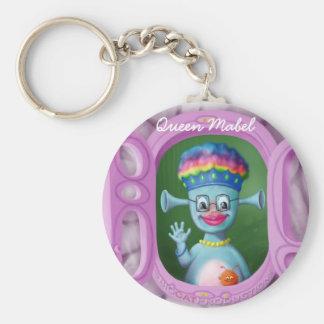 Queen Mabel & Cedric Key Ring