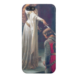 Queen man knighted antique painting iPhone 5/5S case