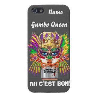 Queen Mardi Gras Gumbo View Hints please iPhone 5/5S Case