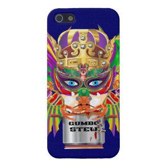 Queen Mardi Gras Gumbo View Hints please iPhone 5 Cover