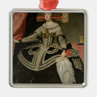 Queen Maria Anna of Austria , c. 1652 Christmas Ornament