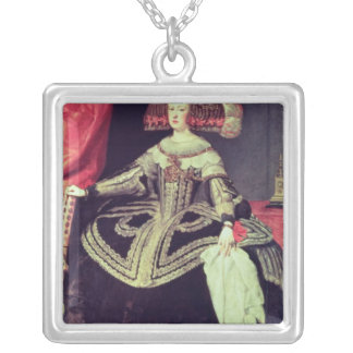 Queen Mariana of Austria  c.1653 Silver Plated Necklace