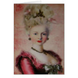 Queen Marie Antoinette ~ Card / Invitations