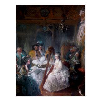 Queen Marie Antoinette Postcard France Diva