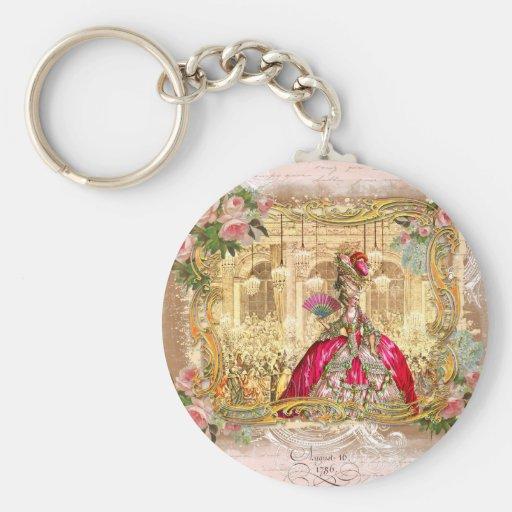 Queen Marie Antoinette Versailles Party Keychain