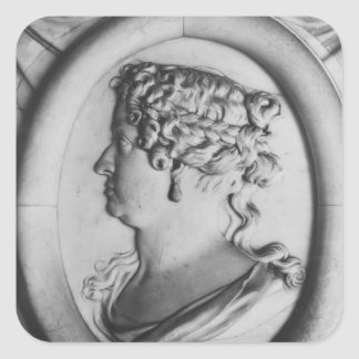 Queen Marie-Therese of Austria Square Sticker