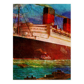 QUEEN MARY 1 POSTCARD