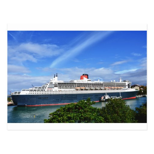 Queen Mary 2 Cruise Ship Post Cards
