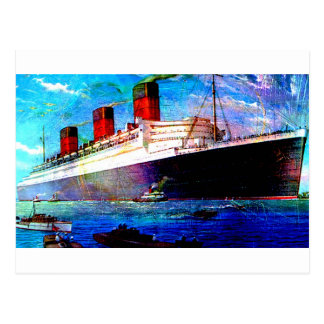 QUEEN MARY 2 POSTCARD